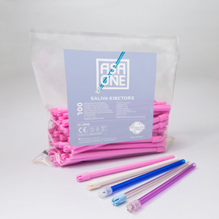 Saliva Ejectors Pink with Pink