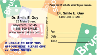 Brush Floss Smile Appointment