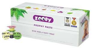 Zooby Prophy Paste Animal Pack